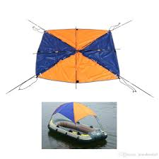 Awning Boat 2017 4 Person Inflatables Kayak Canoe Rowing Boat Sun Shelter
