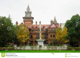 Victorian Style Mansions Victorian Mansion At Shanghai Film Park Stock Photo Image 62411897