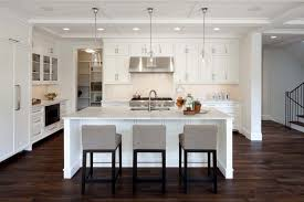 Dark Grey Kitchen Cabinets by Kitchen Design Fabulous Dark Hardwood Floors White Kitchen