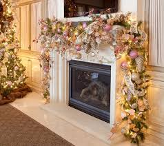 fireplace mantel holiday decorating ideas amys office