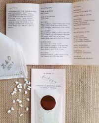 Wedding Ceremony Program Ideas Unique Wedding Ceremony Programs Ideas Chloe Hunter
