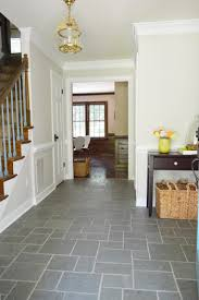 foyer freshness a soft neutral paint color foyers gray and tile