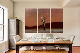 dining room wall art 3 piece canvas wall art brown huge canvas print tree canvas