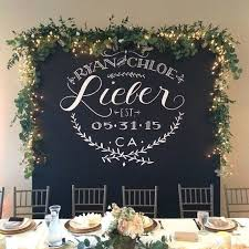 wedding backdrop font best 25 table backdrop ideas on sweetheart table