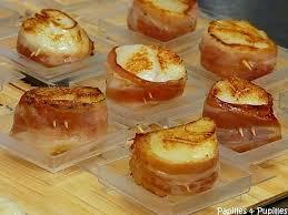 cuisiner des noix de st jacques noix de jacques au lard