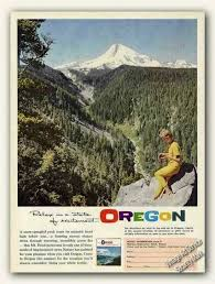 Oregon travel and tourism images Vintage travel and tourism ads of the 1960s page 3 jpg
