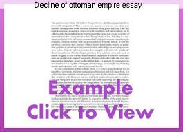 Ottoman Empire Essay Decline Of Ottoman Empire Essay Custom Paper Academic Writing Service