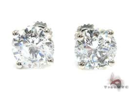 diamond studs for men xl solitaire studs style white gold 14k