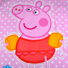 Kid Rug by Baby Girls Cartoon Peppa Pig Blanket Kids Rug Cover Children U0027s