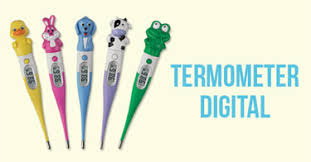 Termometer Digital Apotik jual termometer digital merk terbaik akurat harga murah