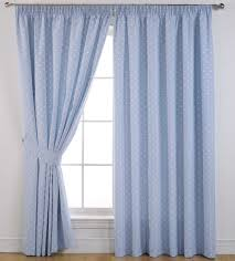 White Curtains With Blue Trim Bathroom Design Appealing Blue Inspirations And Attractive White