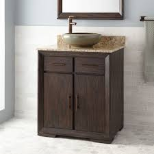 Rustic Bathroom Vanities For Vessel Sinks 30