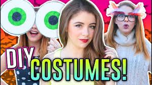last minute diy halloween costumes for girls easy u0026 afforable