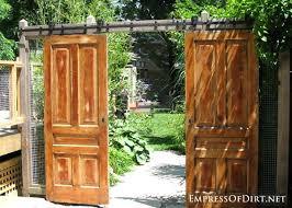 12 ideas for doors and windows in the garden garden gate barn