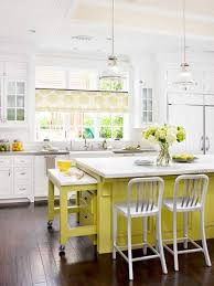 colorful kitchen islands beautifully colorful painted kitchen cabinets