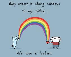 baby unicorn coffee art print 15 sebastien millon art