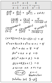 openalgebra com solving rational equations