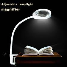 le de bureau loupe loupe led lumière 10x loupe outils de réparation loupes loupe