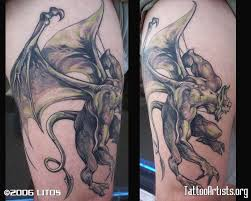 35 best uv gargoyle tattoo images on pinterest tattoo artists