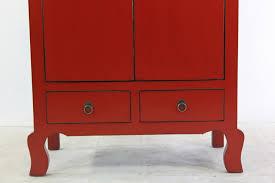 Wohnzimmerschrank Rot Kleiner Schrank Rot Kommode Lf017 R 001 U2013 Unterholz U2013 Möbel