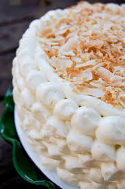 coconut cake with lime frosting u2014 sweetbites