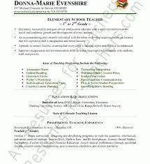 Free Teacher Resume Samples by Superb Teacher Resume Sample 11 Cv Resume Ideas