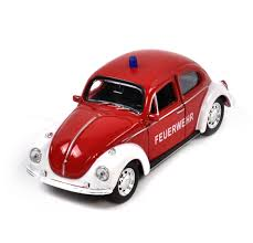 volkswagen fire volkswagen beetle red feuerwehr german model fire brigade car