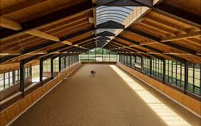 8 stunning covered riding arenas stable style