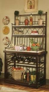 Large Bakers Rack 14 Best Bakers Rack Images On Pinterest Kitchen Ideas Wrought
