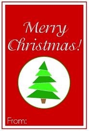 printable merry gift tags