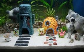 Star wars fish tank decorations spongebob squarepants aquarium