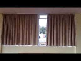 Motorized Curtain Rail Electric Curtain Tracks Youtube