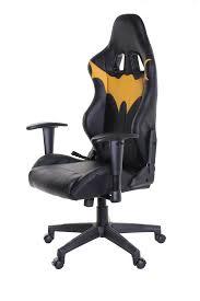 timeoffice batman series ergonomic video gaming chair race car