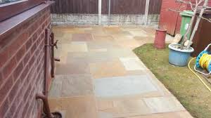 Indian Sandstone Patio by Indian Sand Stone Patio Cleaning U0026 Repointing Wigan 3 Warrington