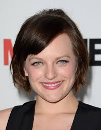 elisabeth moss short cut with bangs short hairstyles lookbook