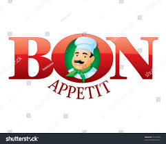 bon appetit cartoon chef stock vector 92103956 shutterstock