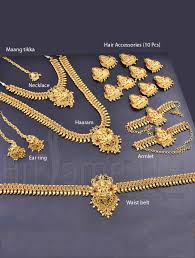 bridal set for rent marriage bridal mahalakshmi jewellery set indian bridal jewelry