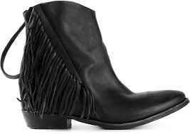 Brown Fringe Ankle Boots Cinzia Araia Fringed Ankle Boots Where To Buy U0026 How To Wear