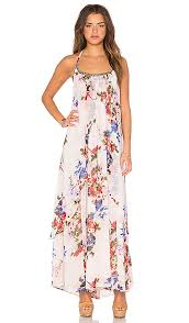 raga feeling floral halter dress in multi revolve