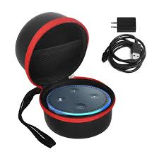 amazon com echo dot case bag box kugi portable protective