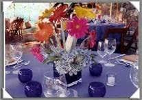 Daisy Centerpiece Ideas by Centerpiece Featuring Gerber Daisies Pink Wedding Flowers