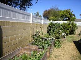 vinyl vinyl fence extensions does a very good job attaching to the