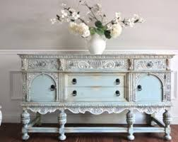 French Country Shabby Chic by Antique Ornate Jacobean Hand Painted French Country Shabby Chic