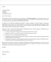 Guarantee Letter Sle For Product Mechanical Engineer Cover Letter Restaurant General Manager