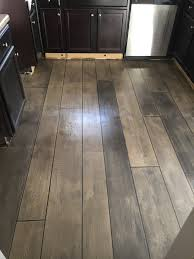 weathered gray concrete wood kitchen floor fayetteville nc