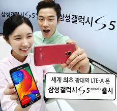 samsung announce lte a galaxy s5 for korea complete with 2560 x