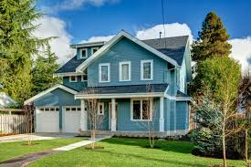 blue house white trim photo page hgtv