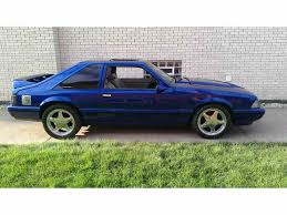 1990 Mustang Gt Black 1991 To 1993 Ford Mustang For Sale On Classiccars Com 42 Available