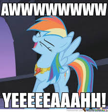 Rainbow Dash Meme - just rainbow dash by qaz meme center