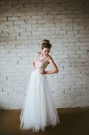 sequined wedding dress 10 gorgeous glittery sequin wedding dresses tulle skirts